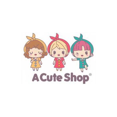 "San-x Rilakkuma Lace Door Curtain 59"" x 33""1/2 Strawberry Yellow"